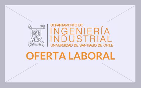 Importante empresa requiere egresado de la carrera de Ingeniería Civil o Ingeniería de Ejecución Industrial