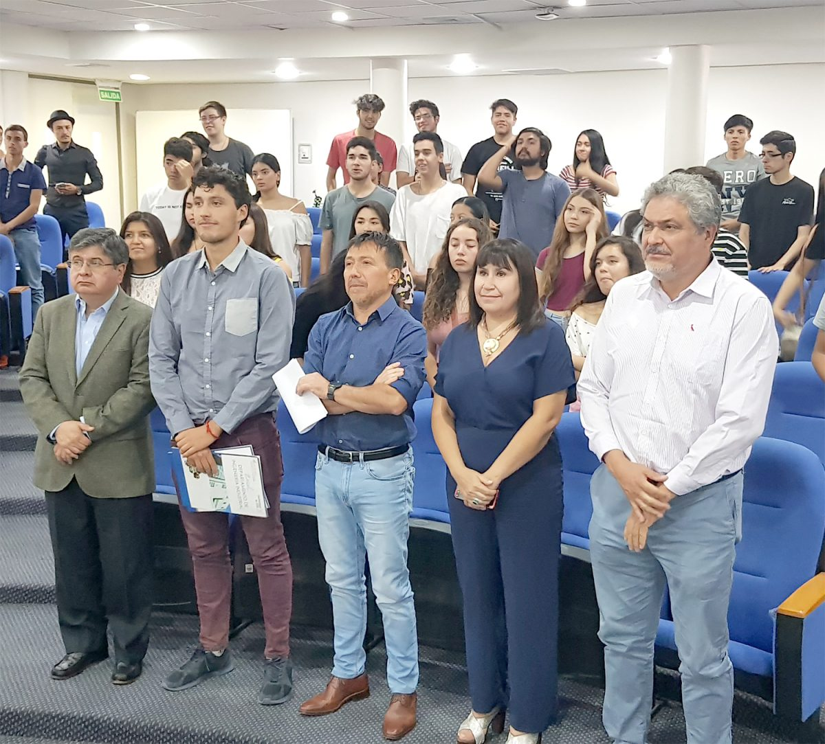 Bienvenida a nuevos estudiantes de jornada diurna del Departamento de Ingeniería Industrial