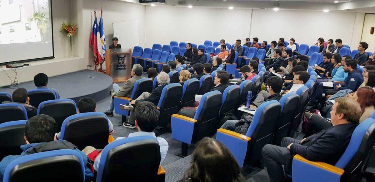 Departamento de Ingeniería Industrial dio bienvenida a estudiantes de Ingeniería Civil y Ejecución Industrial de jornada vespertina