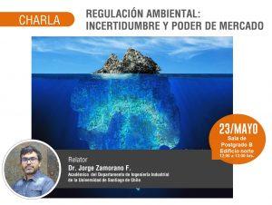 CHARLA: REGULACIÓN AMBIENTAL: INCERTIDUMBRE Y PODER DE MERCADO @ Departamento Ingeniería Industrial Universidad de Santiago de Chile