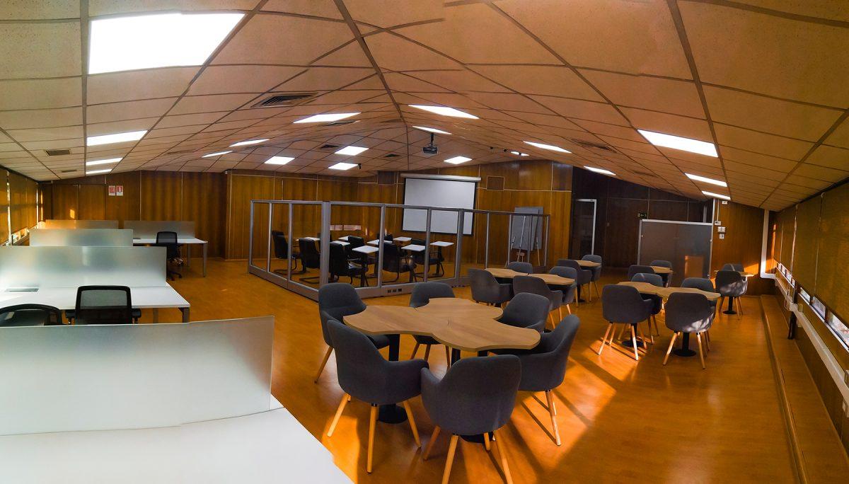 Departamento de Ingeniería Industrial crea espacio de coworking para estudiantes y egresados