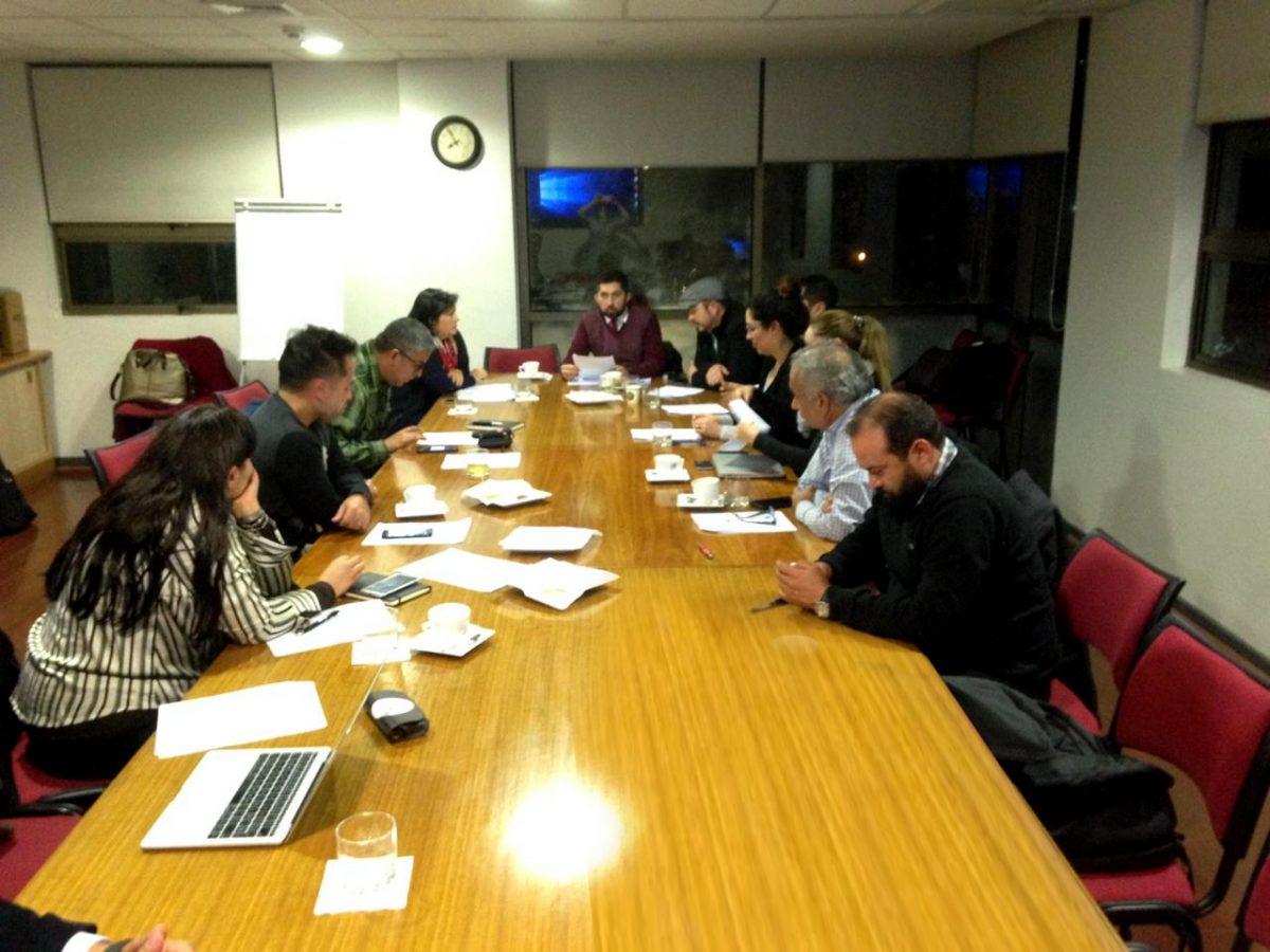 (Español) Red de Emprendedores realiza su encuentro mensual y renueva su compromiso de apoyo al Departamento de Ingeniería Industrial