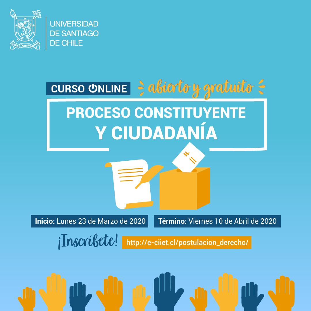 Curso online «Proceso Constituyente y Ciudadanía»