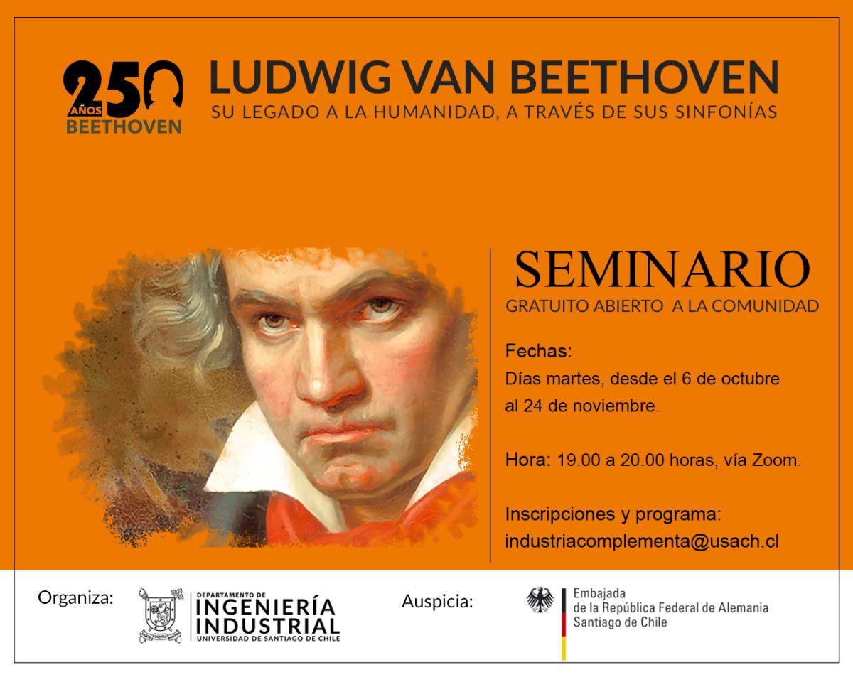 Industria Complementa te invita junto a tu familia: Seminario Beethoven