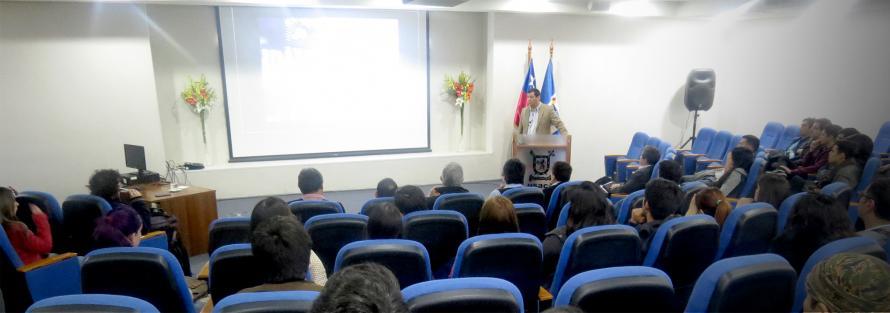 CEO de Everis Chile aborda transformación digital de la economía con estudiantes de Ingeniería Industrial
