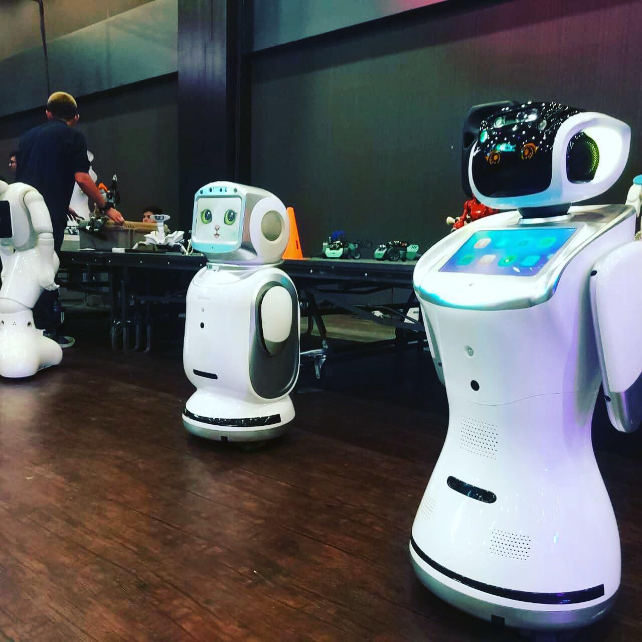 Departamento de Ingeniería Industrial participa del Festival del Robot 2019