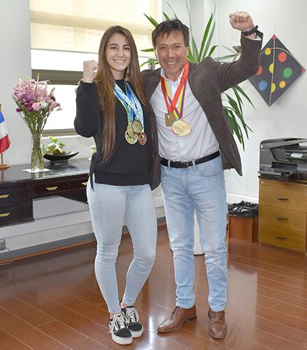Estudiante de Ingeniería Civil Industrial alcanzó el Top 1° del ranking mundial de Karate